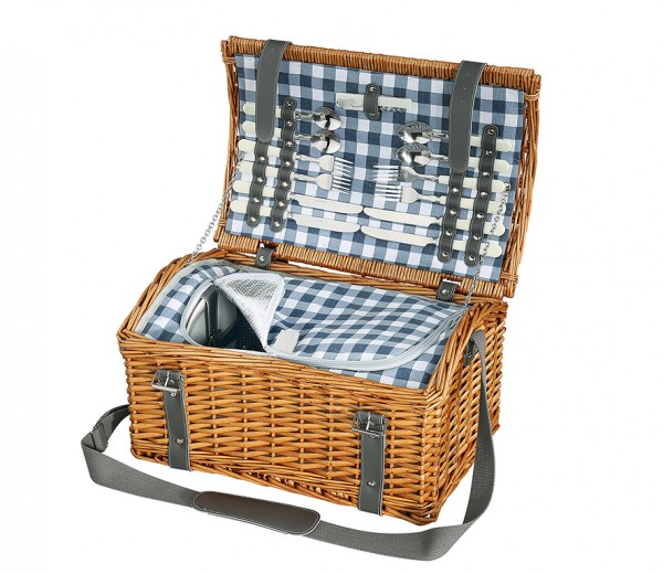 Picknick-Korb GARDA hellbraun