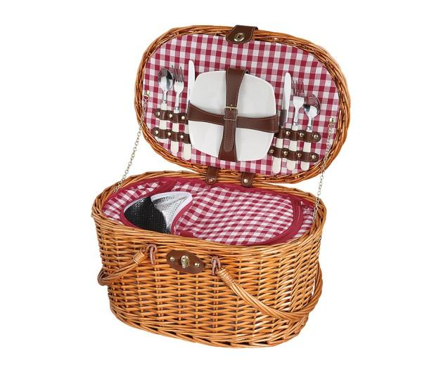 Picknick-Korb RIVA hellbraun