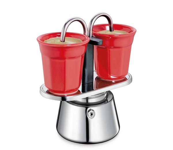 Espressokocher-Set CAFFETTIERA