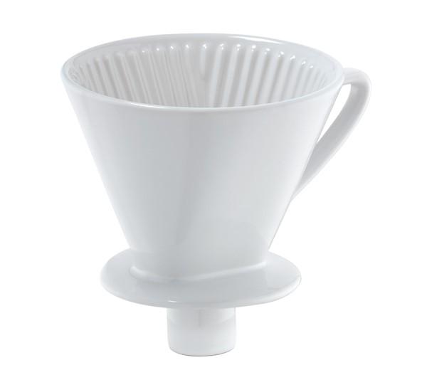 Kaffeefilter mit Stutzen