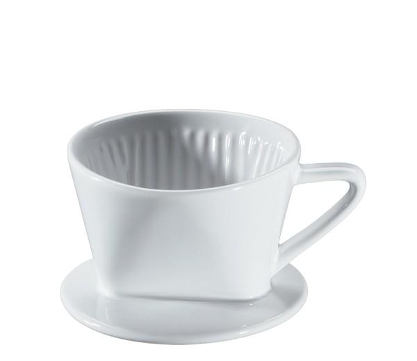 Kaffeefilter, weiß